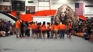 Merced High School Gangnam Style Rally