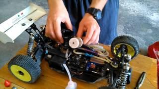 RC Modellismo Caserta- Operazioni da fare alla macchina a scoppio dopo l'utilizzo - Rc car after run