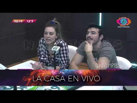Entrevista picante a Yasmila y Pato 15/08 - Radio con Vos Gran Hermano 2016