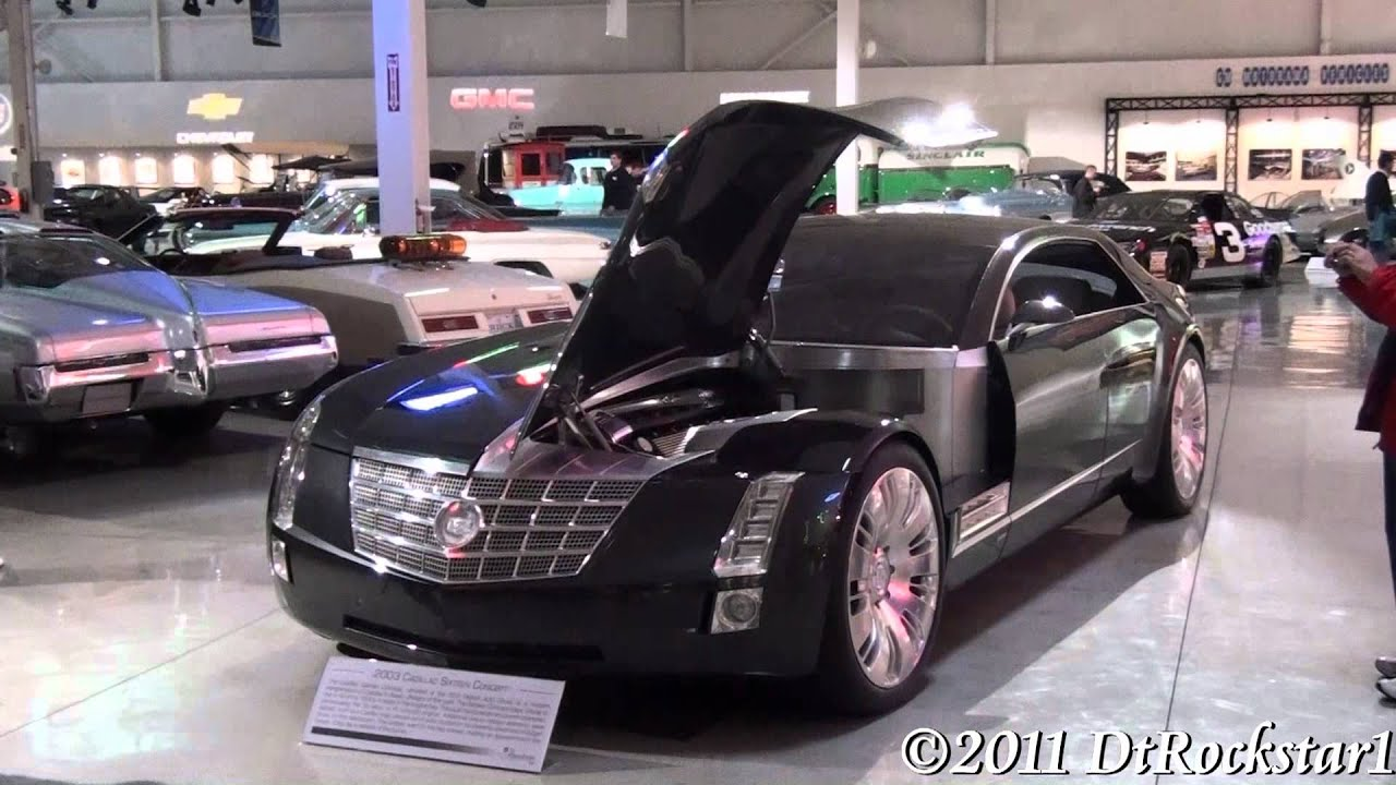 Cadillac Sixteen Concept 1 000 Horsepower Youtube