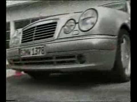 Mercedes-Benz S210 E-Class E55 AMG test