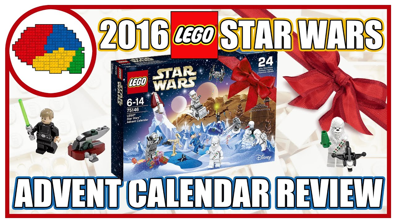 9509 LEGO Star Wars Advent Calendario