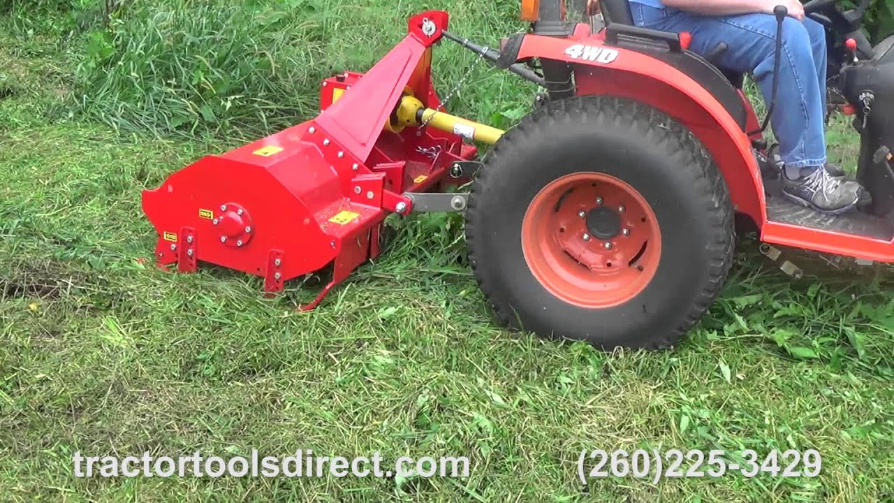 Caroni Mower Tc590 : Tractor tools direct caroni flail mower demonstration