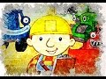 Bob The Builder Cartoon Character Color Marker Sketch For Kids