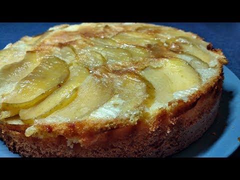 Пирог с яблоками шарлотка - самый простой рецепт