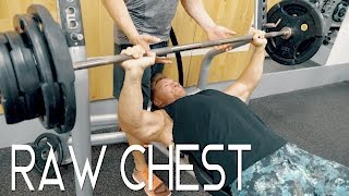 Raw Chest Workout In London