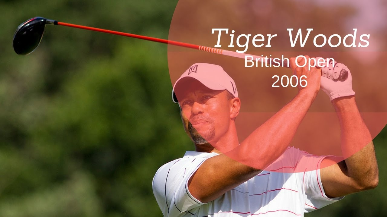 tiger woods 2006 open championship