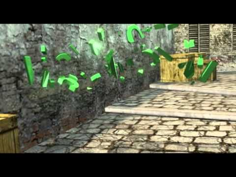 Counter Strike map 3DS Max animation - with tutorial