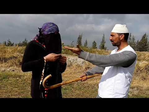 انظر ماذا فعل الحاج مسعود فى اخته تفاحه /لن تصدق السبب/كوميديا طحن