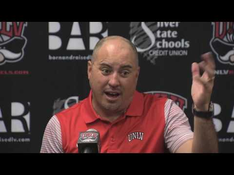 UNLV Football Postgame Interviews -- Wyoming (Nov. 12, 2016)