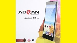 Advan Vandroid S6, Harga, Spesifikasi, Review, Unboxing 2014 - 2015