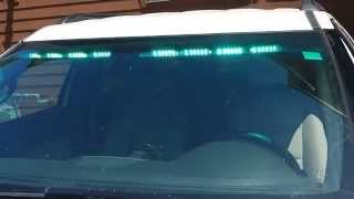 prvs install soundoff signal nforce interior lightbar