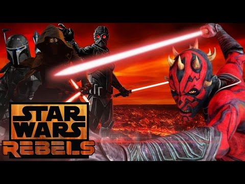 Darth Maul The First Knight of Ren - Star Wars Rebels/Episode 8 Theory