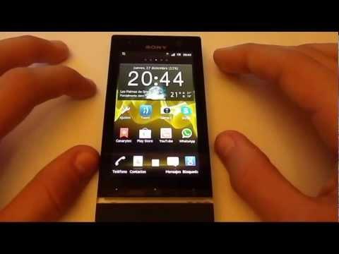 Review Sony Xperia U (HD) (Español)