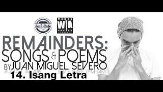 Video Juan Miguel Severo - Isang Letra download MP3, 3GP, MP4, WEBM, AVI, FLV Oktober 2018