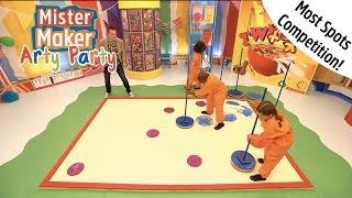 Spotty Arty Challenge | Arty Party | Mister Maker