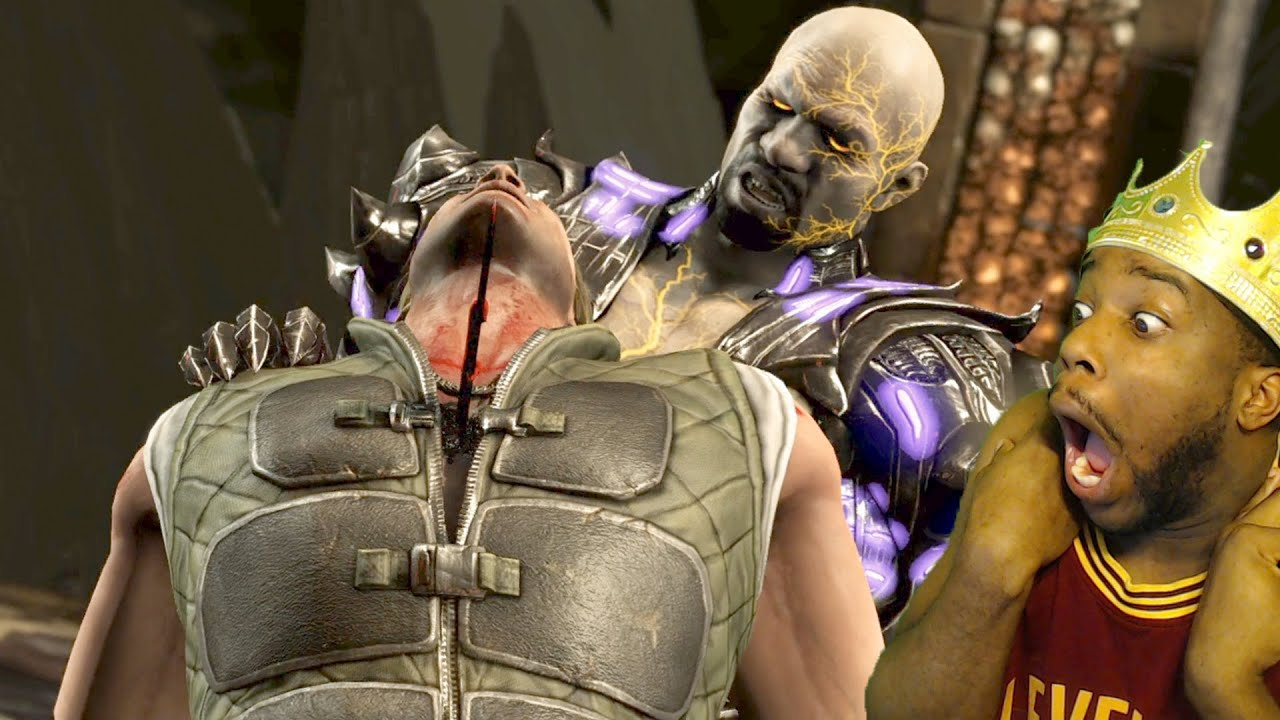JOHNNY IS DEAD WTF! Mortal Kombat X Story Mode Ep.5 Funny