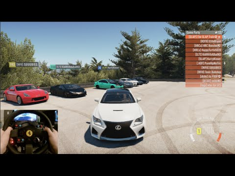 FH2 GoPro - 900+HP V8 Lexus RC-F Online Meet/Cruise w/Boosted