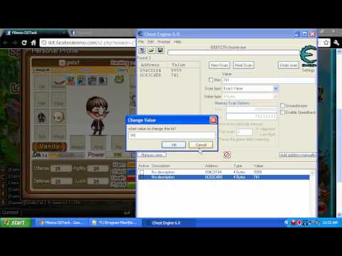 How to hack DDtank in facebook using CheatEngine June 2011
