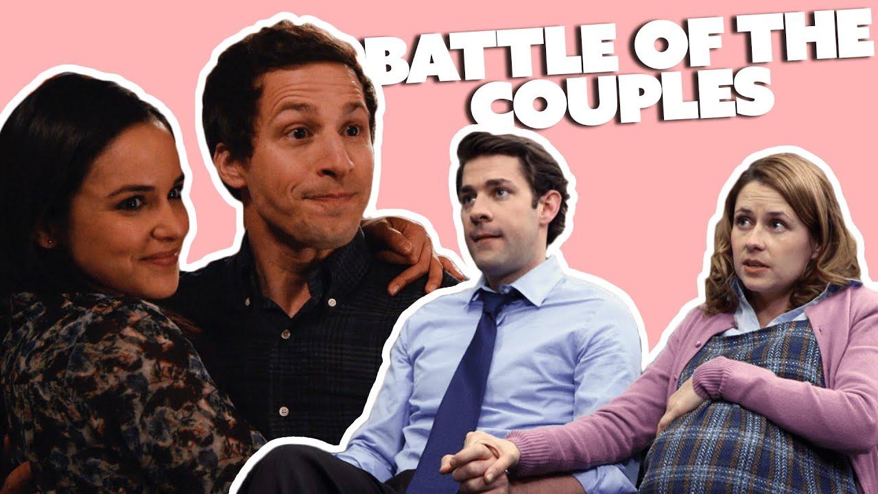 BATTLE OF THE COUPLES: Jake & Amy VS Jim & Pam | Brooklyn Nine-Nine VS The Office | Comedy Bites