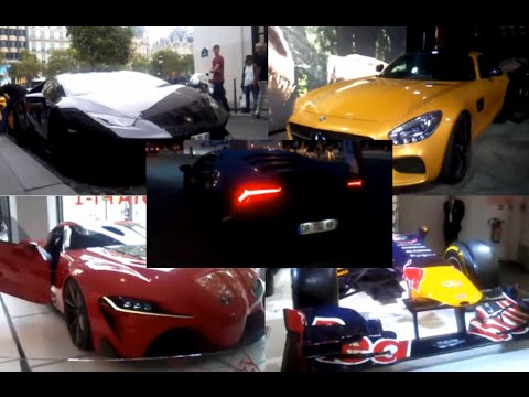DS Goes To: France/Paris | Lamborghini revs by the Eiffel Tower + Cars on the Aux Champs Elysees