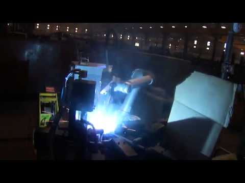 Welding with an UR5 robot from Universal Robots