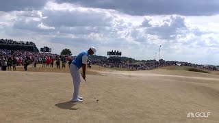 The Open Championship 2018: First Round Highlights