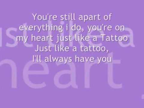 Jordan sparks tattoo lyrics youtube for Jordan sparks tattoo lyrics