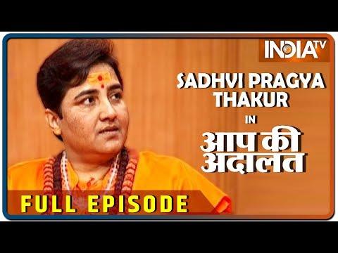 Sadhvi Pragya Thakur in Aap Ki Adalat (Full Episode)