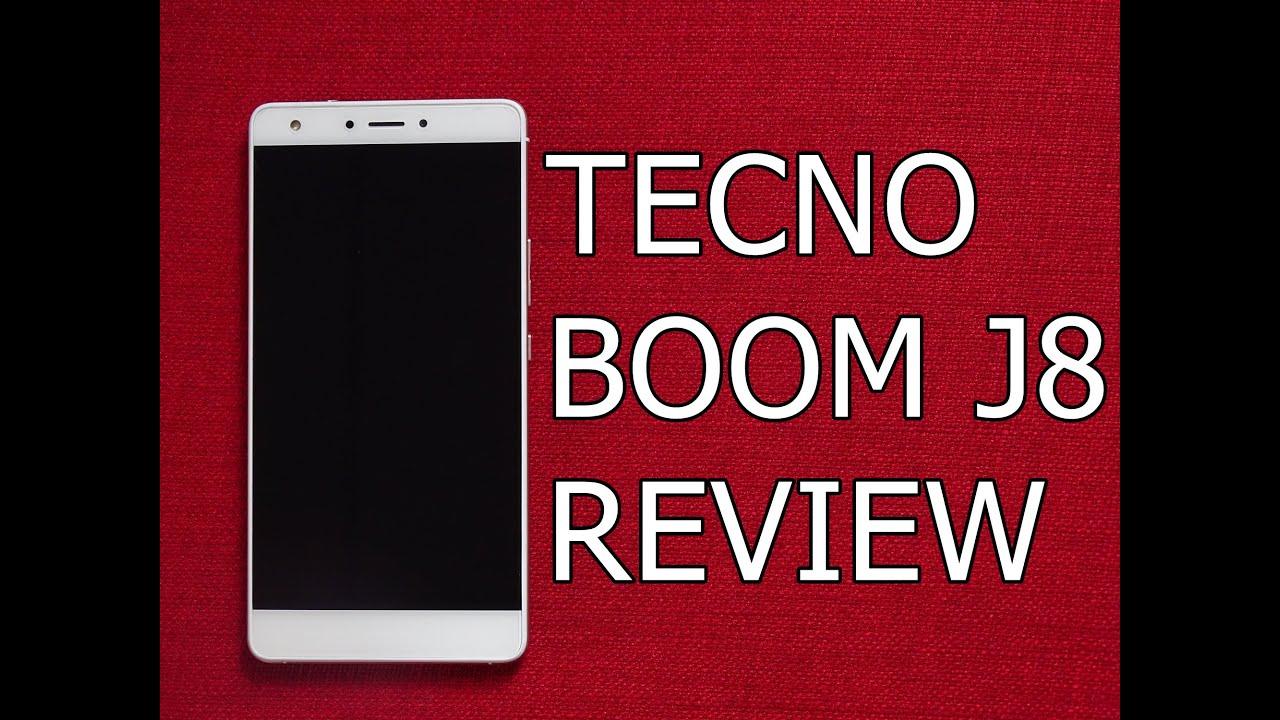 Tecno Boom J8 Review
