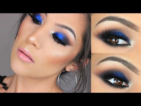 Bold eye makeup