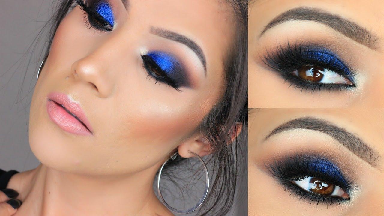 Bold Blue Eye Makeup I Urban Decay X Gwen Stefani Palette ...