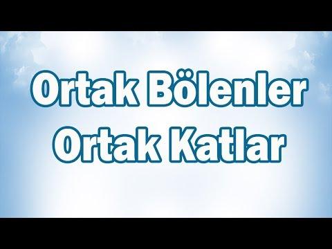 ORTAK BÖLENLER Ve ORTAK KATLAR (Problemler) 6. Sınıf Matematik | CANLI YAYIN
