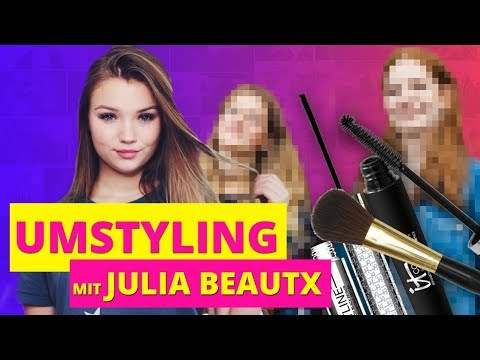 Umstyling mit Julia Beautx