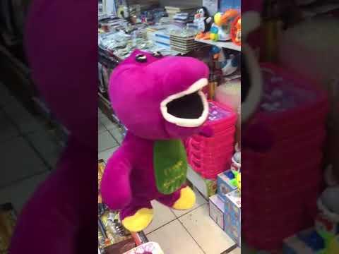 Barney Plush Doll singing Hatsune Miku XD