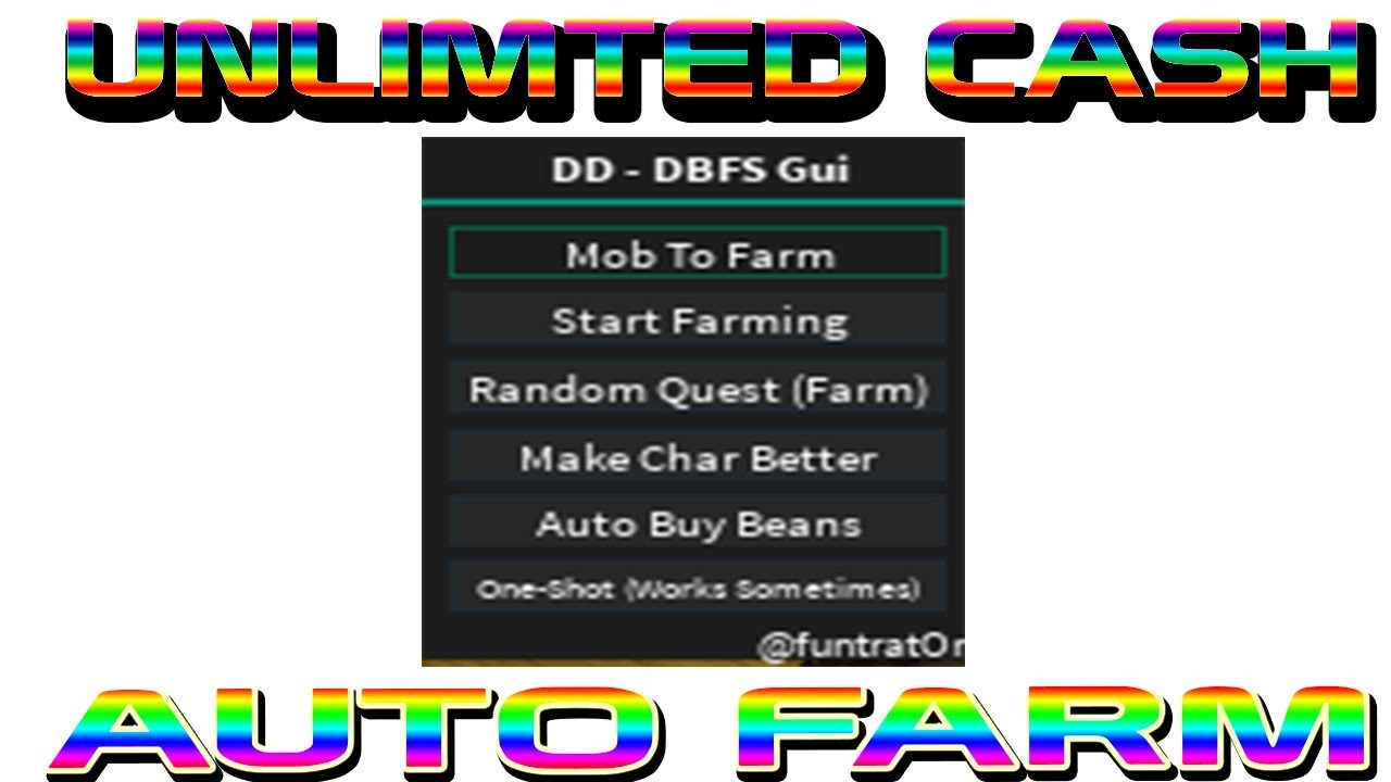 DRAGON BALL Z FINAL STAND ROBLOX HACK / SCRIPT   UNLIM CASH   AUTO FARM    AUTO QUEST   MORE!!