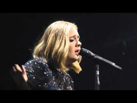Adele - Make You Feel My Love - Live At Manchester Arena - Mon 7th March 2016