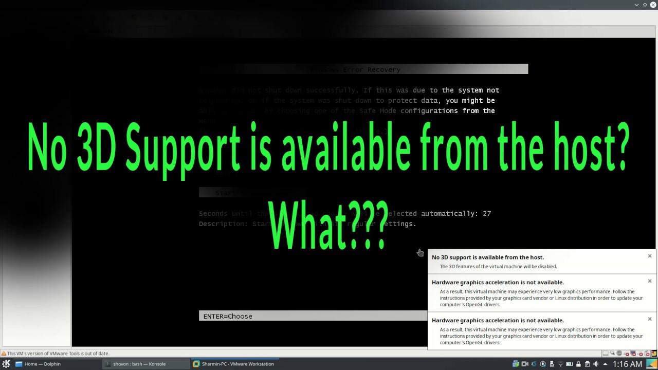 Fix VMware