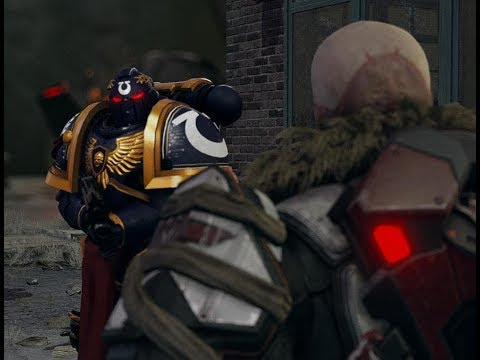 SPACE MARINES TAKE ON THE CHOSEN ASSASSIN! AotI Lets Try P4