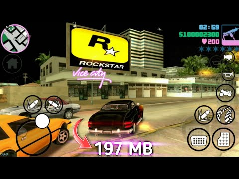 [197 MB] GTA Vice City HD Mod (Apk+Data) For Android 2019 [Sound+Mod]