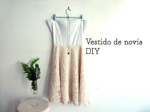 Cómo Hacer Un Vestido De Novia Fácil Y Económico Por