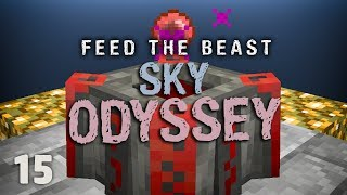 FTB Sky Odyssey Ep. 15 Starting Blood Magic