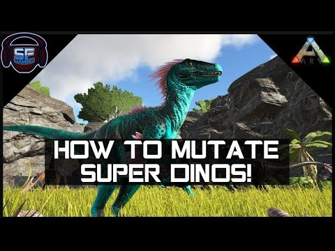 HOW MUTATIONS WORK IN ARK - Everything You Need to Know about Dino Stats (Part 2)