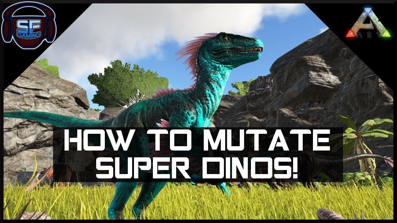 How To Change Dino Stats Ark