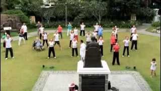 Qigong and Taiji Session Lead by Master Daniel Tan @ Sun Yat Sen Nanyang Memorial 24 Nov 2013