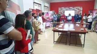 """Inauguración de la exposición """"130 años de luchas y conquistas"""""""