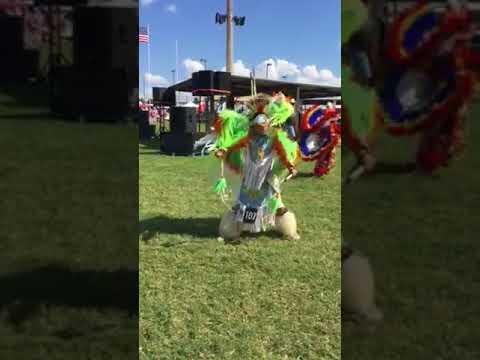 Jr boys fancy @ Comanche Nation 2017