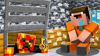 Saving Noob1234 from Minecraft PRISON!