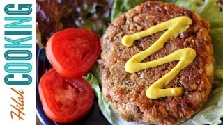 Veggie Burger Recipe - Vegetarian Black Bean Burger