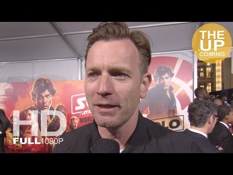 Ewan McGregor interview at Solo: A Star Wars Story premiere